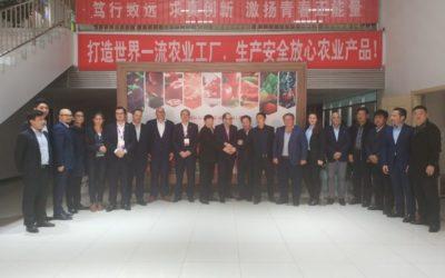 Profinanza y AgritechMurcia encuentran en Shandong oportunidades de negocio en Agricultura