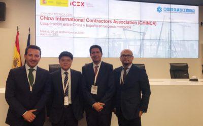 Profinanza se reúne con las empresas de construcción Chinas para buscar alianzas con España.
