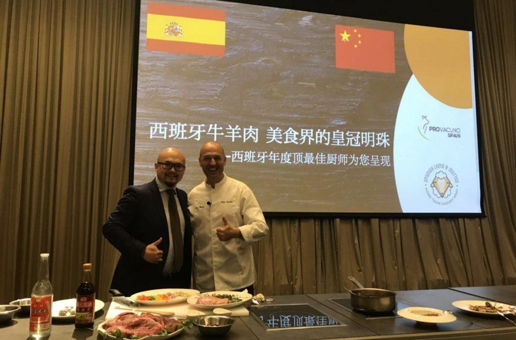 Profinanza apoya en China su apertura al vacuno y ovino de España